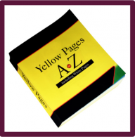 yellow page book