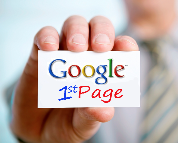 Google- first page
